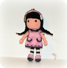 Little Liz doll by AmigurumiBB