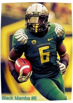 DeAnthony Thomas # 6 Oregon Ducks RB is my favorite college football player
