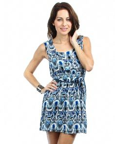 SUNDRESS WITH BRAIDED BELT $18.00