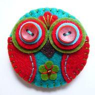 owl by betty shek