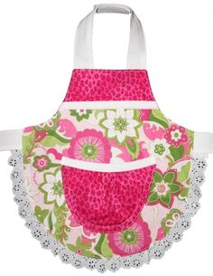 Baby girls apron..adorable!