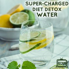Dr Oz: Super-Charged Hormone Diet Detox Water Recipe + Glyci-Med Meals
