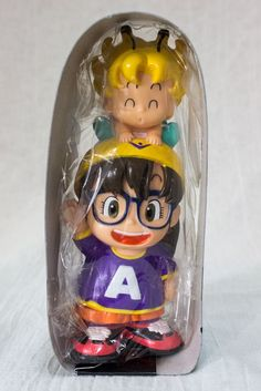 Dr. Slump Arale chan PVC Figure type Saving Box Bank 1 JAPAN ANIME MANGA