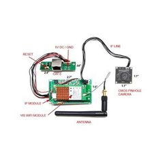 Wifi Module Spy Camera Kit - Create Your Own Remote Live View Access Camera
