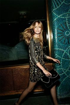 #Party #Dress #Black #Gold #Editorial #Sequin #Clutch #Style #Fashion #BiographyInspiration