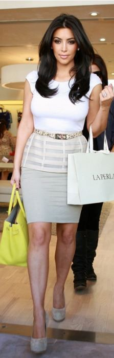 Shoes - Yves Saint Laurent Purse - Hermes Similar style skirt Similar style tops