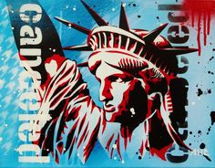 Liberty is cancelled, our voices cannot be! A little commentary on the current government shutdown, and of the GOP holding the US and world economie. Liberty is Canceled, our voices cannot be! Government Shutdown, The Voice, Graphic Art, Liberty, Stencils, Graffiti, Batman, Deviantart, Canning