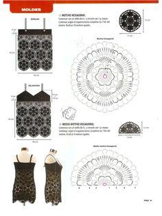 Gallery.ru / Фото #1 - Tejido practico Crochet Calados 2012-04 - WhiteAngel