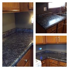For only $70, turn your old countertops into beautiful one's with Giani Countertop Paint!