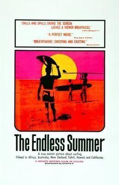 Endless Summer Movie Poster Standup 4inx6in