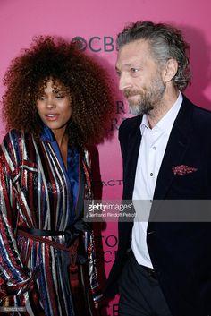Photo d'actualité : Actor Vincent Cassel and his companion Tina...