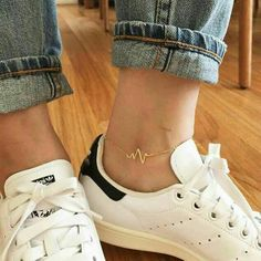 99 beautiful jewelry ideas ideas for women who are now Trensd - jewelry accessories ideas Mode Adidas, Accesorios Casual, Trendy Swimwear, Cute Jewelry, Women's Jewelry, Anklet Jewelry, Handmade Jewelry, Ankle Bracelets, Mode Inspiration