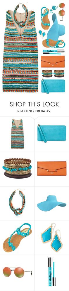 """""""Untitled #2308"""" by countrycousin ❤ liked on Polyvore featuring Alice + Olivia, HOBO, Dune, Erica Lyons, Kendra Scott and Prada"""