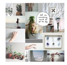 """Do you sometimes let your hand slip away?"" by misschelseagarner ❤ liked on Polyvore featuring art"