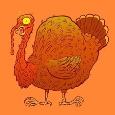 Gobble gobble! Happy Thanksgiving from Mutated Monstrous Turkey.  #HappyThanksgiving2017 #thanksgiving #monster #turkey #gobblegobble #Thanksgiving2017