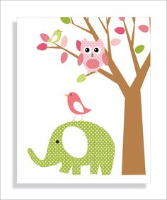 Same seller as the alphabet print.  This is so adorable. Also in matching nursery colors.