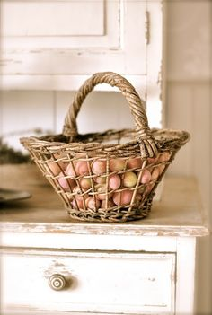 mom always said not to put all of your eggs in one basket....wait......she said don't count them before they're hatched.