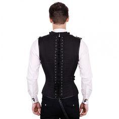 The Violet Vixen - Dark Matter Corset, $139.00 (http://thevioletvixen.com/mens/mens-corsets/dark-matter-corset/)