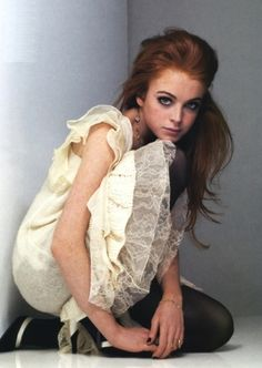 Lindsay Lohan - oh the days when she was young, innocent and had a career