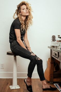 I don't know where to put her. Shoes.... Jeans.... Curls.... SHE IS AMAZING