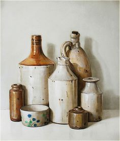 Still Life Paintings Holly Farrell Internet Art, Art Watercolor, Still Life Oil Painting, Hyperrealism, Still Life Art, Art Background, Art Auction, Paintings For Sale, Art Studios