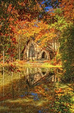 Chapel At Callaway Gardens In Stone Mountain, GA   Photo By James Corley  (great