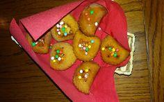 Torte e dolcetti di Rosa: Calzoni di natale ripieni di ceci e cacao amaro