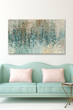 """Giclee Stretched Canvas Wall Art by Mark Lawrence """"Perfect Love"""" – Picture Perfect Int. Living Room Canvas Painting, Painting Frames, Painting Prints, Paintings, Serene Bathroom, Canvas Wall Art, Canvas Prints, Photo Frame Design, Texture Painting"""