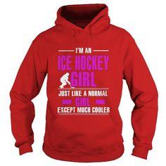 Girl ice hockey shirts - Ice Hockey Girl Is Cooler