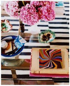 Melanie Acevedo -- I spy that ever-so-popular IKEA rug again!
