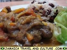 Jamaican Oxtail Recipe....my husband is cooking right now....my house smells great