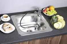 Nerezový vestavný dřez 50x18x44 cm : SAPHO E-shop Bath Caddy, Dishes, Shop, Tablewares, Dish, Signs, Store, Dinnerware