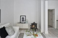 A serene white Malmö apartment