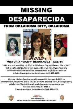 Victoria Vicky Hernandez.
