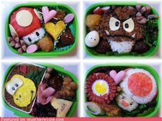mario food...i would eat this no mattter WHAT is in it!