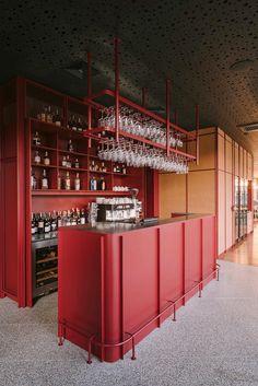 Small Bar Areas, Bar Restaurant Design, Architecture Restaurant, Gothic Architecture, Ancient Architecture, Istanbul, Design Café, Glass Building, Interior Design