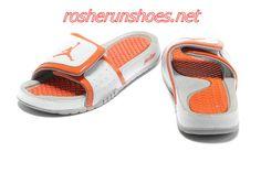 2ef948baee34d6 nike air jordan hydro 2 slide sandals white orange sneakers p 3594