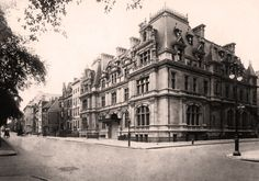 """This was the New York City mansion of """"THE MRS. ASTOR"""", where she held court for New York Society's,""""400"""". Located at 65th & Fifth Avenue and designed by Richard Morris Hunt, this house was a twin mansion for Caroline Astor and her son, John Jacob Astor and his family."""