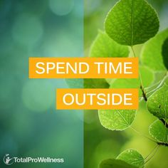 #WellnessTips: Make sure you spend some time outside every day. Visiting green spaces on a daily basis is associated with better mental health, and even just looking at images of nature scenes can stimulate the parts of your brain associated with happiness, positivity, and emotional stability. #TotalProWellness #wellness #health #nutrition #sportsnutrition #supplements #vitamins #fitness #exercise