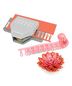 Look at this Dimensional Lily Flower Paper Punch on #zulily today!