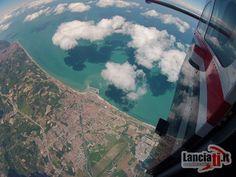 La vista di Fano by Lanciati. Tandem, Airplane View, Sport, Deporte, Sports, Tandem Bikes