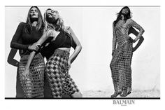 The ultimate '90s supermodel squad is fronting Balmain's new campaign | Fashion Journal