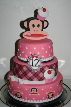 Paul Frank was my favorite. I may or may not try and make this for myself for my next birthday.