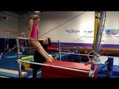 Short kip and drop kip drills - YouTube