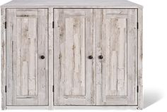 Litter Box Farmhouse Style Credenza | Litter-Robot Cat Furniture, Furniture For You, Storage Boxes, Tall Cabinet Storage, Hidden Litter Boxes, Litter Robot, Rustic White, Modern Farmhouse Style, Credenza