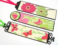 Bookmarks by BirdsCards - Cards and Paper Crafts at Splitcoaststampers