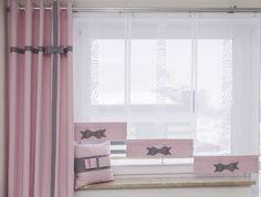 Panel z kokardą.Dowolny wymiar i kolor. Types Of Curtains, Modern Lounge, Curtain Rods, Windows, Living Room, Bedroom, Kids, House, Design