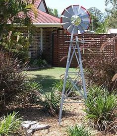 GARDEN WINDMILL 1420mm ORNAMENTAL DECORATIVE REPLICA