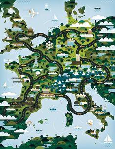 Tour de Europe: Khuan Cavemen Co.