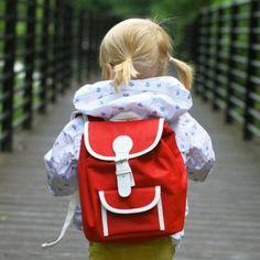 Retro Kinderrucksack – lila